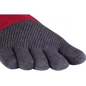 Knitido Marathon TS Running Socks grey/carmine red